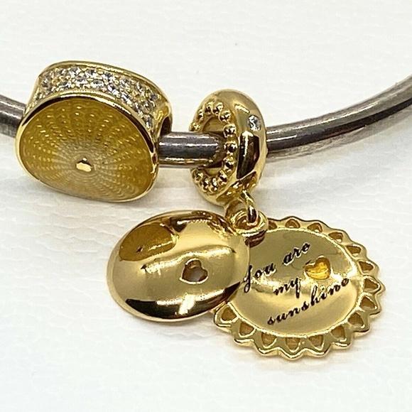 PANDORA Jewelry - Authentic Pandora Set Of  2 SHINE™ Collection